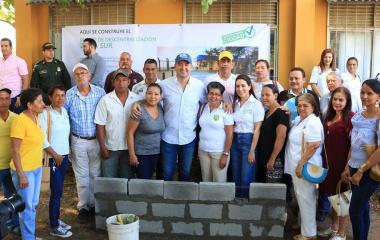 Inician obras del Punto de Descentralización Zona Sur en el barrio Los Araújos.